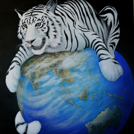 protecting the planet  By Environmental Artist Apollo