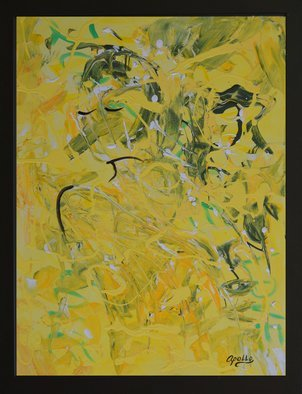 Environmental Artist Apollo: 'when life gives you lemons', 2017 Acrylic Painting, Abstract Figurative. Out of frustration comes creation. When life gives you lemons make lemonaide...