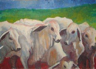 Samuel Eliu Artwork Cabues, 2009 Oil Painting, Animals