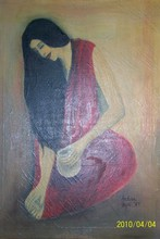 - artwork Self_Portrait_of_Archna_Jaideep_Singh-1270580996.jpg - 1985, Painting Oil, Figurative