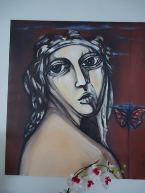 Artist: Hebe Beatrice Alioto - Title: figure - Medium: Acrylic Painting - Year: 2004