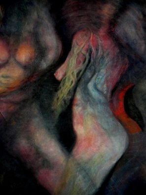 Arlene Rabinowitz: 'After Rapture of the Deep', 2006 Pastel, Figurative. Artist Description:   After the song by Deep Purple Rapture of the deep. Done real time to the music. ...