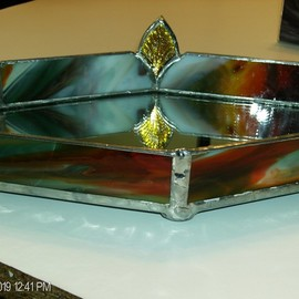cosmetic tray  By Arnold Cecchini