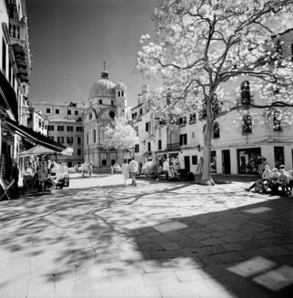 Arsen Revazov: 'Miracoli  Sunny And Spotty', 2015 Infrared Photograph, Cityscape. Camera Alpa SWC, Filter Heliopan 715 mmFilm Efke 100 IRLightjet Inkjet PrintingFraming on requestSigned and CertifiedEdition 25 + 1 AP...