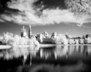 Arsen Revazov: 'Novodevichy 1', 2017 Infrared Photograph, Landscape. B W Film IRLightjet Inkjet PrintingFraming on requestSigned and CertifiedEdition 25 + 1 AP...