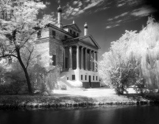Arsen Revazov: 'Simple Malcontenta', 2015 Infrared Photograph, Architecture. Lightjet Inkjet PrintingFraming on requestSigned and CertifiedEdition 25 + 1 AP...