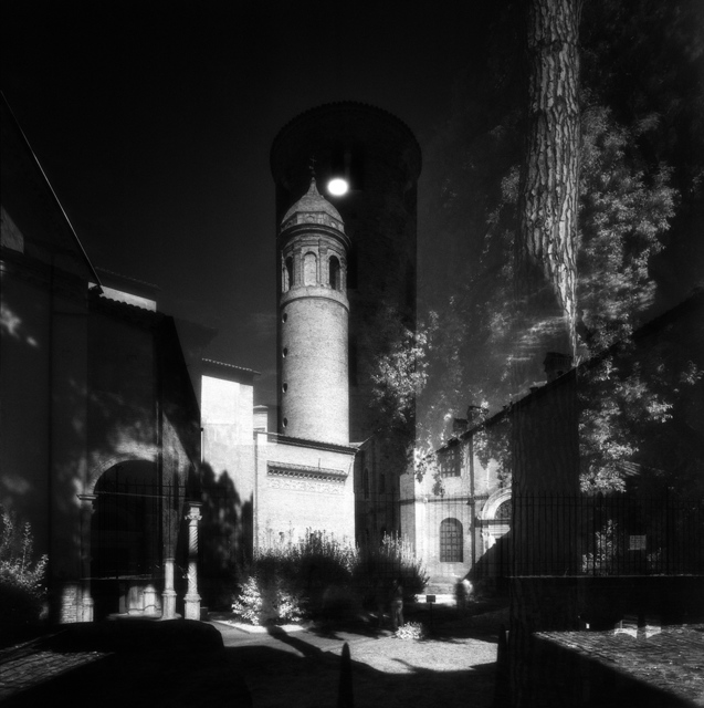 Arsen Revazov  'Sun Over Ravenna', created in 2015, Original Photography Black and White.