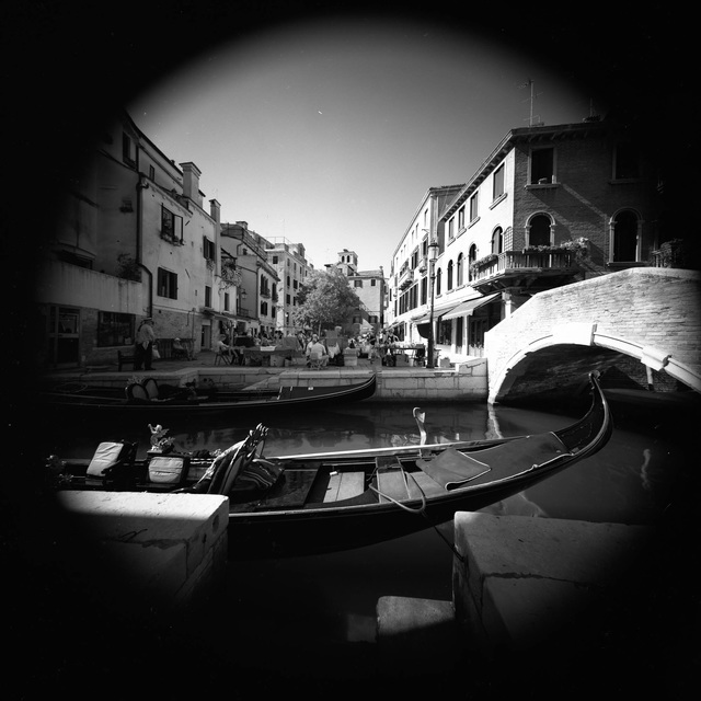 Arsen Revazov  'Venice From A Far', created in 2012, Original Photography Black and White.