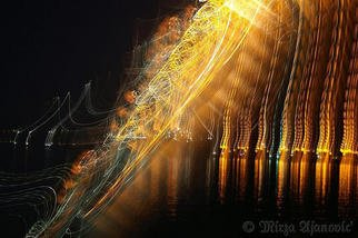 Artist: Mirza Ajanovic - Title: Painting MUSIC with Light 1 - Medium: Color Photograph - Year: 2005