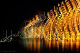 Artist: Mirza Ajanovic - Title: Painting MUSIC with Light 3 - Medium: Color Photograph - Year: 2005
