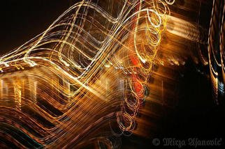 Mirza Ajanovic: 'Painting MUSIC with Light 4U', 2005 Color Photograph, Abstract.