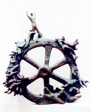 Bronze Sculpture by Zakir Ahmedov titled: Fortuna , created in 1999