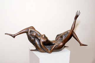 Bronze Sculpture by Zakir Ahmedov titled: Later, created in 2000
