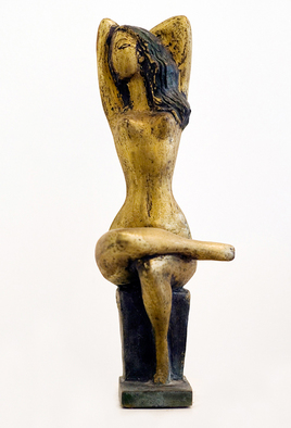Bronze Sculpture by Zakir Ahmedov titled: Morning , created in 1997