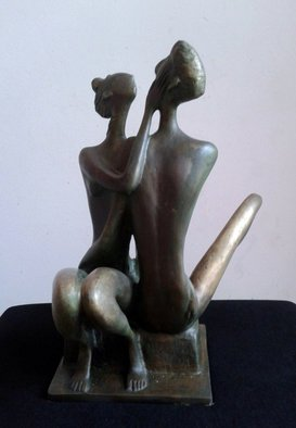 Zakir Ahmedov Artwork My Love, 2013 Bronze Sculpture, Glamor