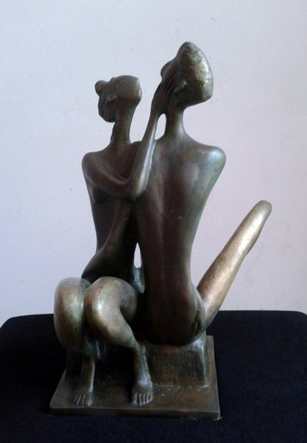 Zakir Ahmedov: My Love, 2013 Bronze Sculpture
