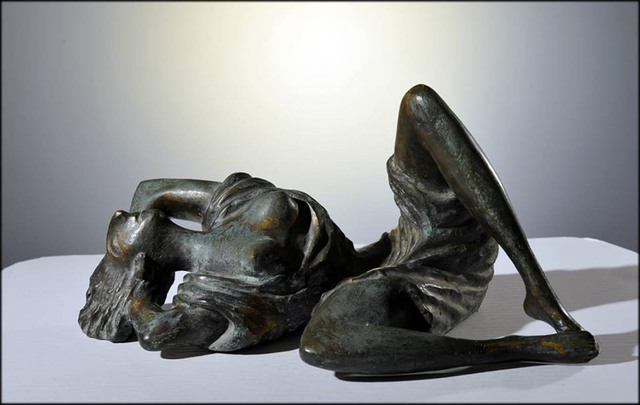 Zakir Ahmedov: SUMMER, 2009 Bronze Sculpture