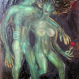 Zakir Ahmedov: 'time to love', 2017 Oil Painting, Nudes. Artist Description: Time to love2017year oil on canvas 55x40cm4000 ...