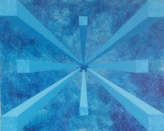 Bo Sigvardson: 'blue univers', 2015 Acrylic Painting, Abstract. Artist Description: painting by Bo Sigvardson...