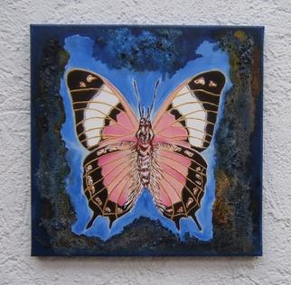 Amans Honigsperger Artwork Flights of Pink Fantasy, 2011 Acrylic Painting, Fantasy