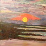 Amistad Sunset By Douglas Ladd