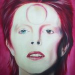 Ziggy Stardust Portrait Of David Bowie, Mel Fiorentino
