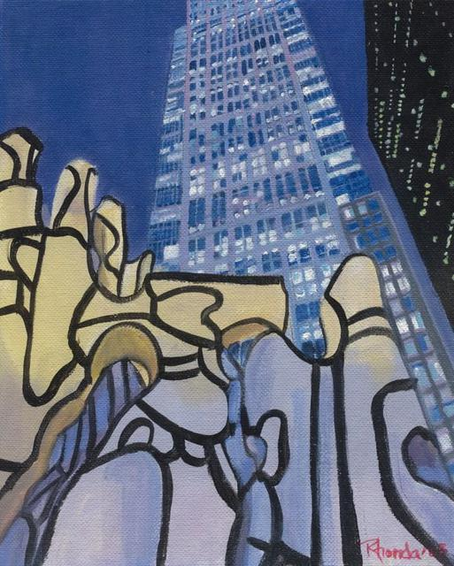 Artist Rhonda Watson. 'The Debuffet In Chicago' Artwork Image, Created in 2005, Original Painting Acrylic. #art #artist