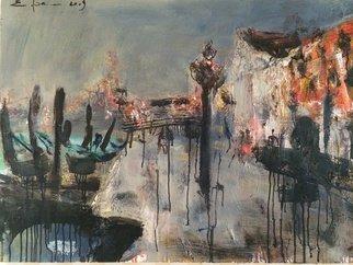Artist: Eduard Belsky - Title: Old town  memories - Medium: Oil Painting - Year: 2008