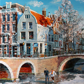 Winter Amsterdam By Artemis  Artists Association