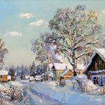 Winter in countryside By Artemis  Artists Association