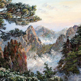 huangshan By Artemis  Artists Association