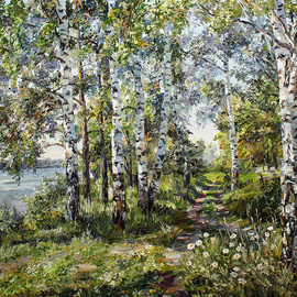path in summer By Artemis  Artists Association