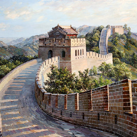 the great wall of china By Artemis  Artists Association