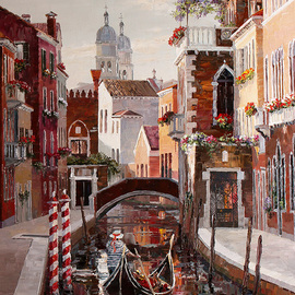 venice rio de san barnaba By Artemis  Artists Association