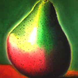 Lone Pear By Katie Puenner