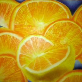 Oranges By Katie Puenner