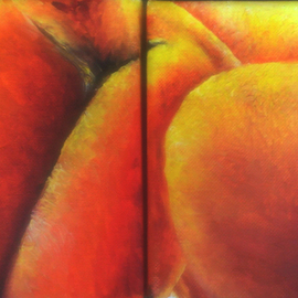 Peachy One and Two By Katie Puenner