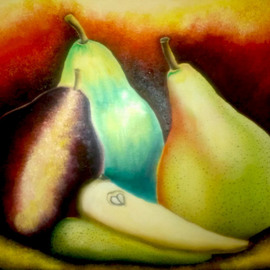 Pear Trio By Katie Puenner