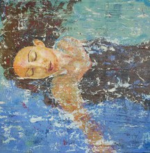 - artwork Floating-1337960635.jpg - 2011, Mixed Media, Figurative