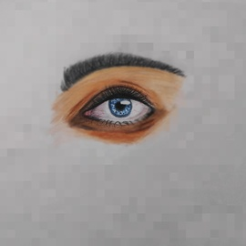 eye sketch By Gurpreet Singh