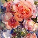 Roses from my garden By K C Tan Bee