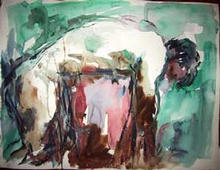 - artwork Untitled_3-1030084801.jpg - 2002, Watercolor, Figurative