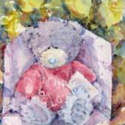 , The Blue Nosed Bear, Still Life, $315