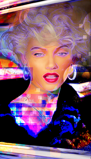 Michael Todd  'Marilyn Monroe', created in 2018, Original Printmaking Giclee.