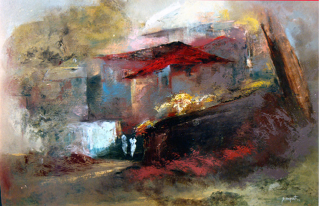 indian abstract oil paintings - photo #8