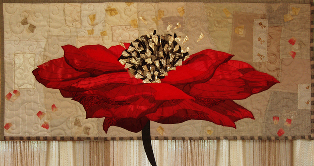Irina Fomina  'The Big Poppy', created in 2012, Original Fiber.