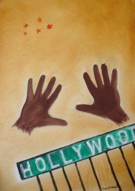 Artist: Roger Cummiskey - Title: Hollywood - Medium: Oil Painting - Year: 2007