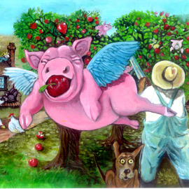 Flying Pigs in My Orchard