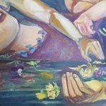 ophelia as mother detail By Stephanie  Cain