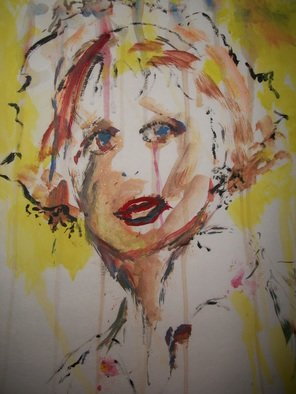 Itoffee Gayle Artwork Goldie, 2012 Acrylic Painting, undecided
